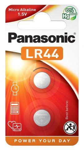 Panasonic Micro Alkaline 2x LR44