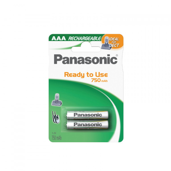 Panasonic DECT Akku 2x LR03 (AAA) 750mAh
