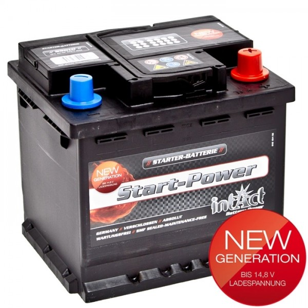 Intact Start Power 12 V 50 AH (c20) 470 A (EN)  GUG