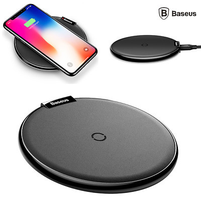 Baseus iX Desktop Wireless Charger Black