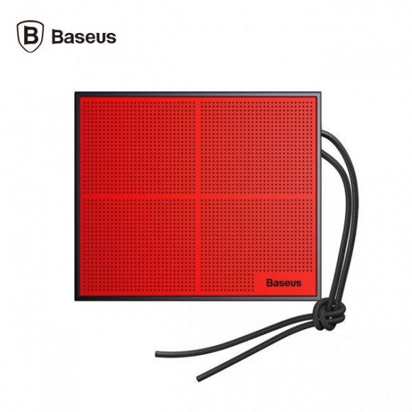 Baseus Encok Music-cube Wireless Speaker E05 red+ Black