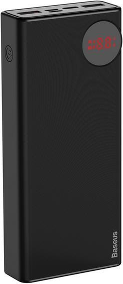 Baseus Mulight  Digital Display Quick charge PD3.0+QC3.0 Power Bank 18W 20000mAh Black