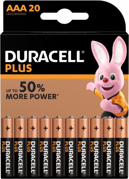 Duracell Plus Power 20x LR03 (AAA/MN2400)