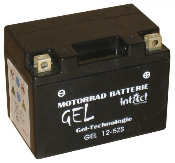 Intact Bike Power Gel - GEL12-5ZS MoBa 12 V 4 AH (c20) 70 A (EN), YTZ5-S