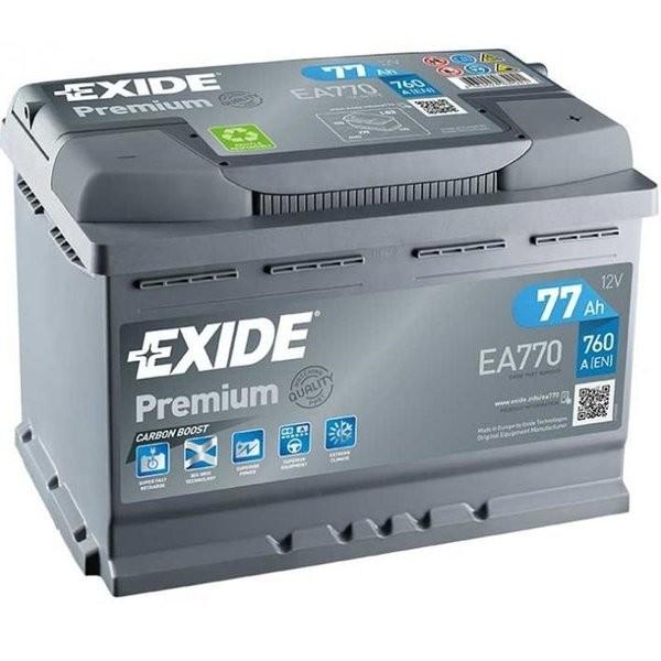 Exide Premium 12 V 77 AH (c20) 760 A (EN)  GUG