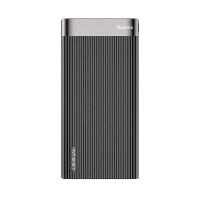 Baseus Parallel Type-C PD +QC3.0 power bank 20000mAh 18W Black