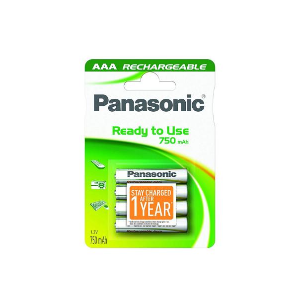 Panasonic Akku 4x LR03 (AAA) 750mAh