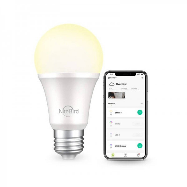 Smart bulb LED Nite Bird WB2 White (App Control)
