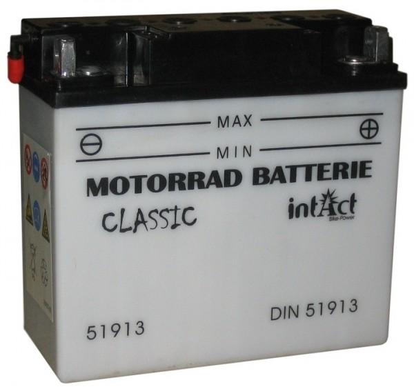 Intact Bike Power Classic - 51913S MoBa 12 V 19 AH (c20) 170 A (EN), 12N19AH