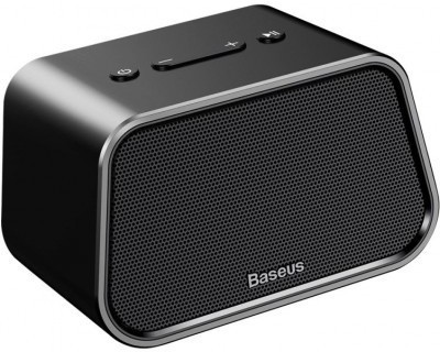 Baseus Encok Multi-functional wireless speaker E02(Aluminum alloy+U disk/TF card/AUX Black