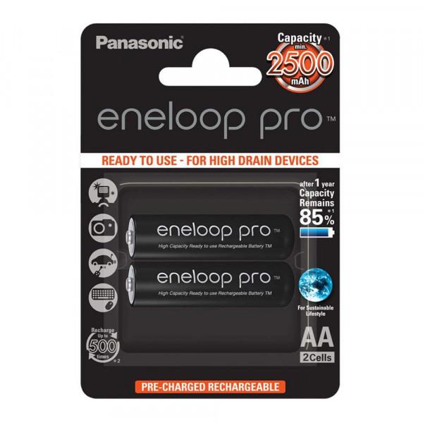 Panasonic Eneloop Pro 2x AA 2500mAh