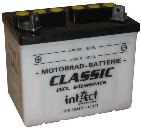 Intact Bike Power Classic - 52430S MoBa 12 V 24 AH (c20) 220 A (EN), U1(9)