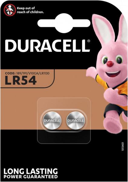 Duracell 2x LR54/LR1130/V10