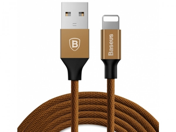 Baseus Yiven Cable For Apple 1.2M Coffee