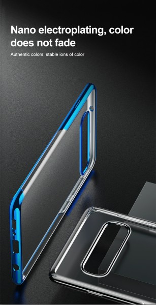 Baseus Simple Case for Galaxy S10+ blue