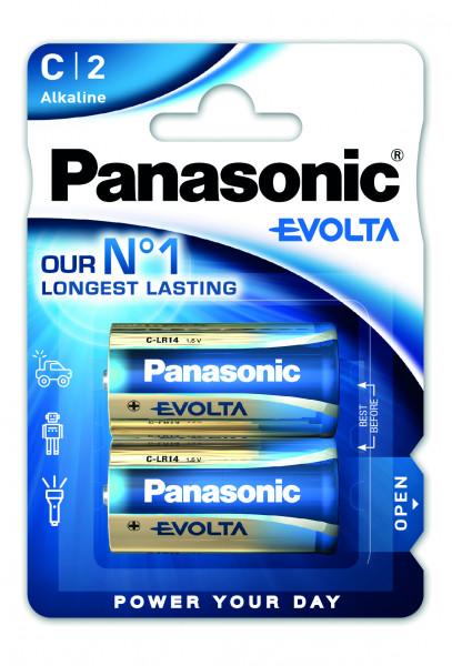 Panasonic Evolta 2x LR14 (C)