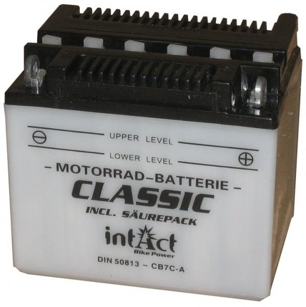 Intact Bike Power Classic - 50811S MoBa 12 V 8 AH (c20) 50 A (EN), CB7C-A, 50711  +SP