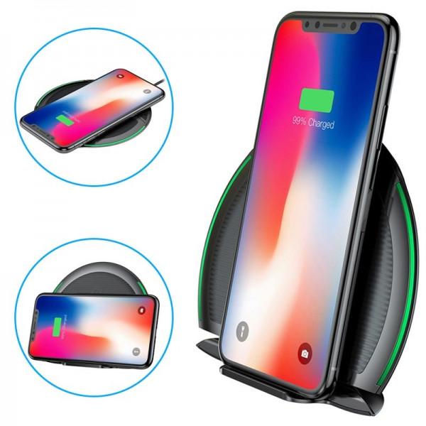 Baseus Foldable Multifunction Wireless Charger Black