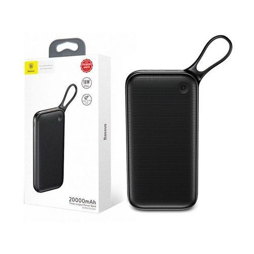 Baseus Powerful Type-C PD+QC3.0 Quick Charge Power Bank(20000 mAh) Black
