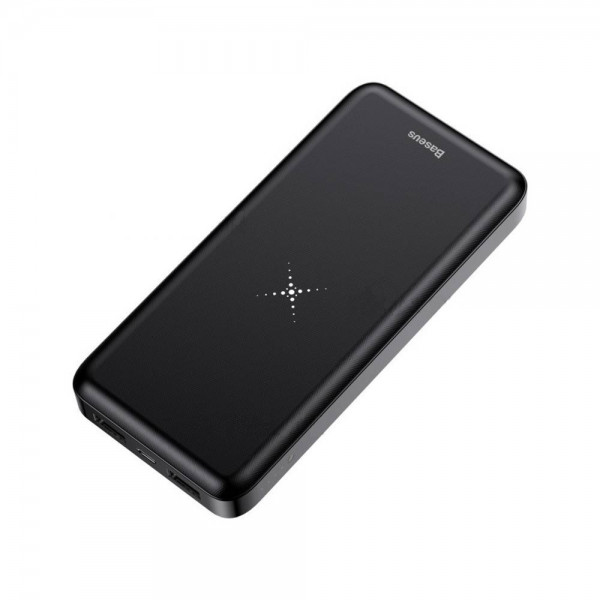 Baseus Wireless Charger Powerbank 10000mAh Black