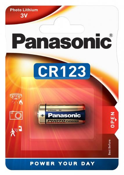 Panasonic Lithium Power 1x CR123 (Photo)