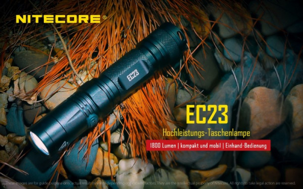 Nitecore LED-Taschenlampe EC23