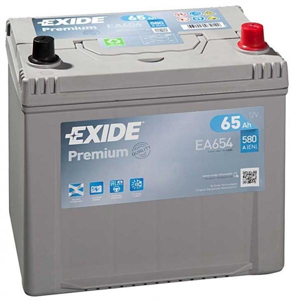Exide Premium Asia 12 V 65 AH (c20) 580 A (EN)  GUG