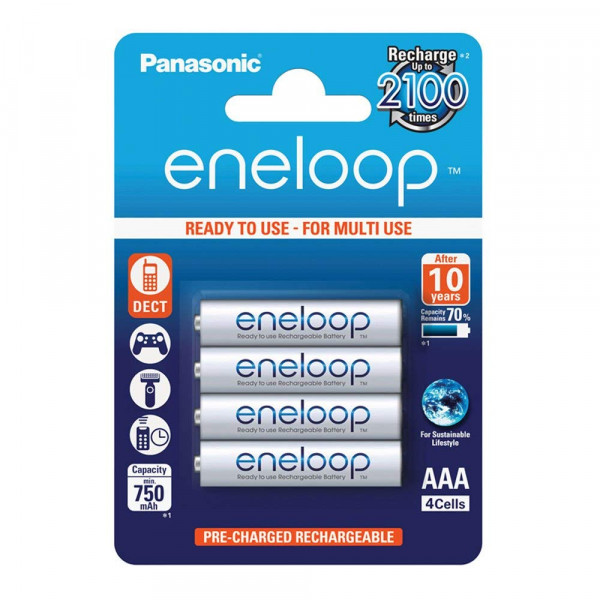 Panasonic Eneloop 4x AAA 750mAh