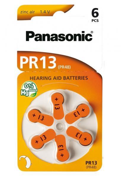 Panasonic Zinc-Air 60x PR13 (PR48) (Hörgeräte/Hearing Aid)