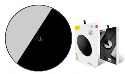 Baseus Simple Wireless Charger 10W For HUAWEI Black