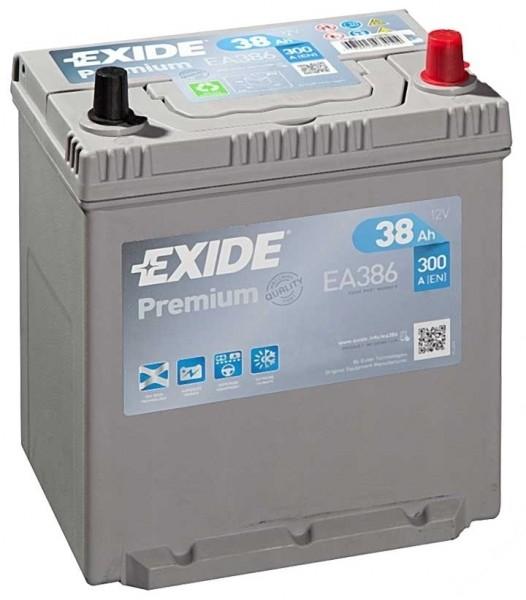 Exide Premium Asia 12 V 38 AH (c20) 300 A (EN) GUG