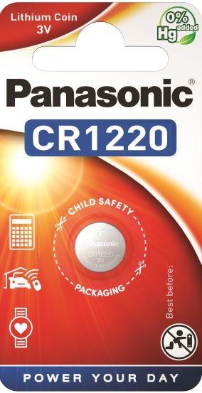 Panasonic Lithium Power 1x CR1220
