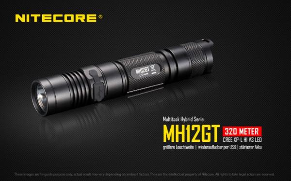Nitecore LED-Taschenlampe MH12GT