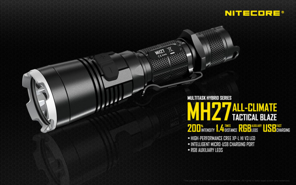 Nitecore LED-Taschenlampe MH27