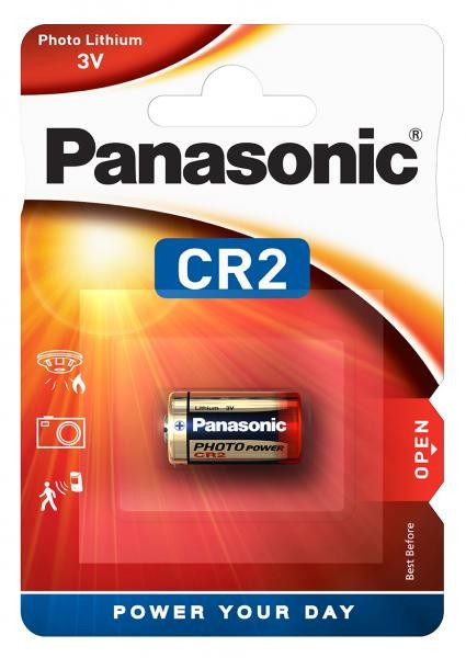 Panasonic Lithium Power 1x CR2 (Photo)