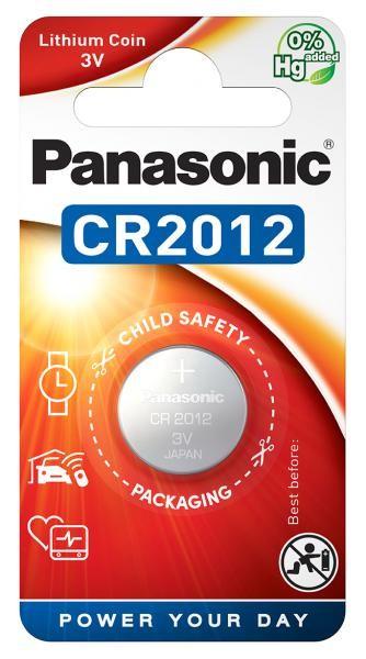 Panasonic Lithium Power 1x CR2012