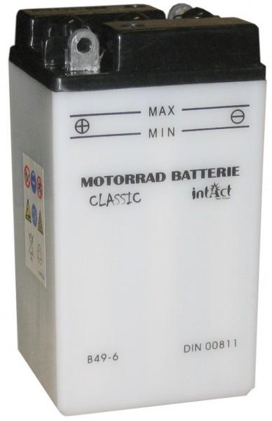Intact Bike Power Classic - 00811S MoBa 6 V 8 AH (c20) 40 A (EN), B49-6  +SP