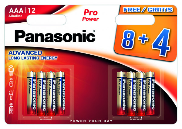 Panasonic Pro Power 12x LR03 (AAA)