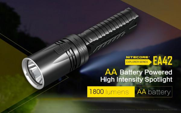 Nitecore LED-Taschenlampe EA42