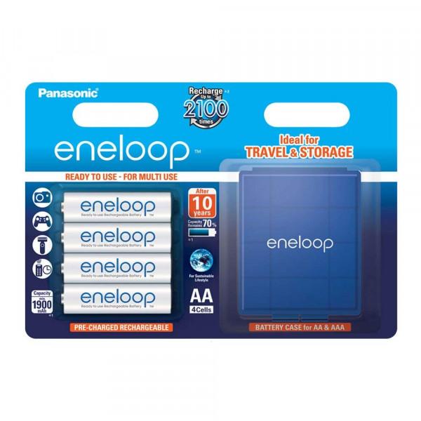 Panasonic Eneloop 4x AA 1900mAh & Box