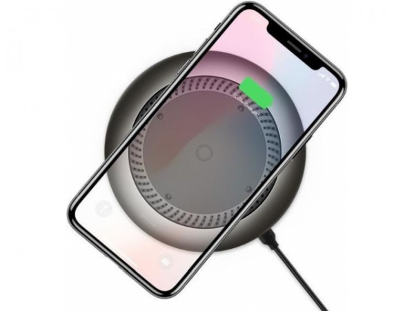 Baseus whirlwind Desktop wireless charger Black