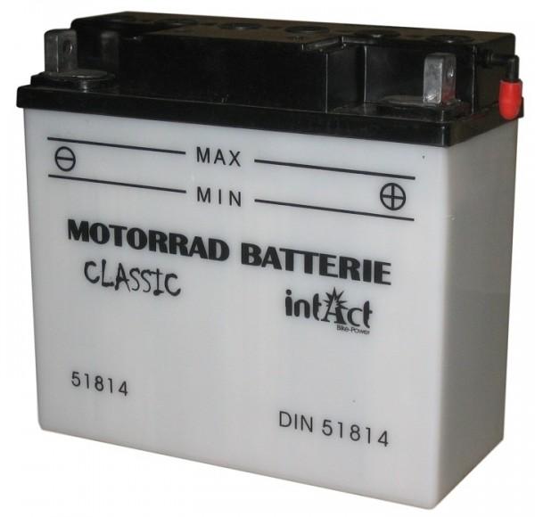 Intact Bike Power Classic - 51814S MoBa 12 V 18 AH (c20) 170 A (EN),