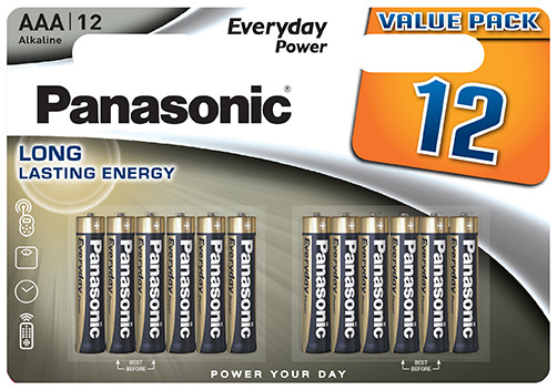 Panasonic Everyday 12x LR03 (AAA)