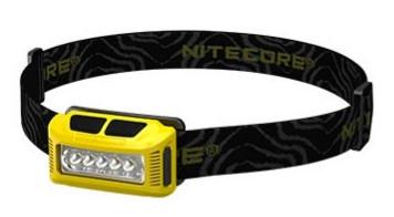 Nitecore Stirnlampe NU10 gelb