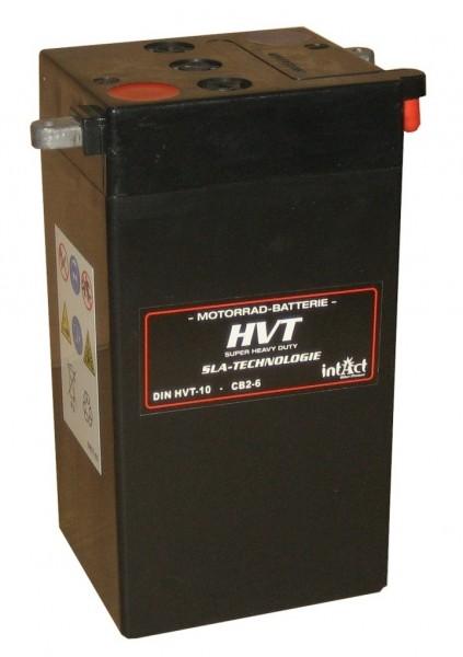 Intact Bike Power HVT - HVT-10 MoBa 12 V 12 AH (c20) 250 A (EN), YTX14-BS, 65948-