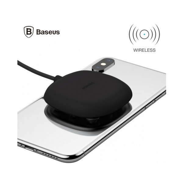 Baseus Suction Cup Wireless Charger Black