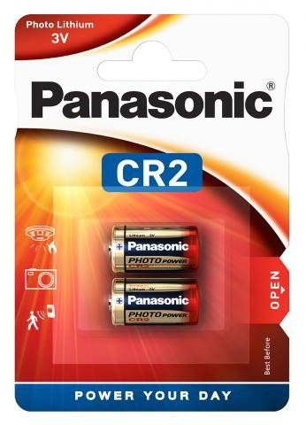 Panasonic Lithium Power 2x CR2 (Photo)