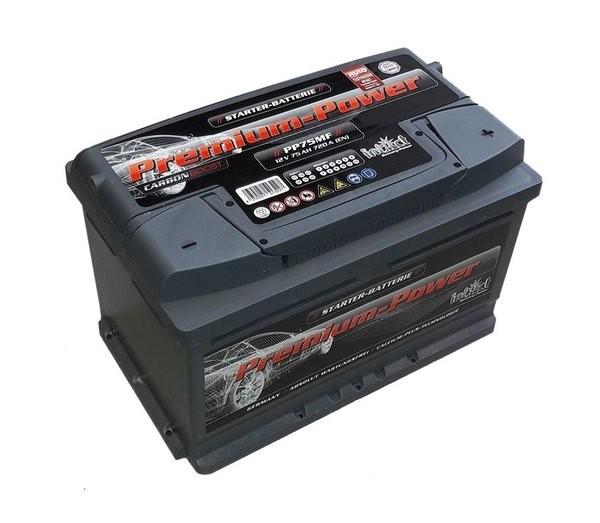 Intact Premium Power 12 V 75 AH (c20) 720 A (EN)  GUG