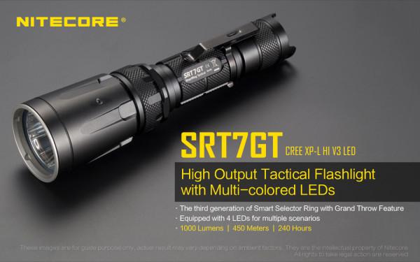 Nitecore LED-Taschenlampe SRT7GT