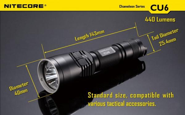 Nitecore LED-Taschenlampe Chameleon CU6